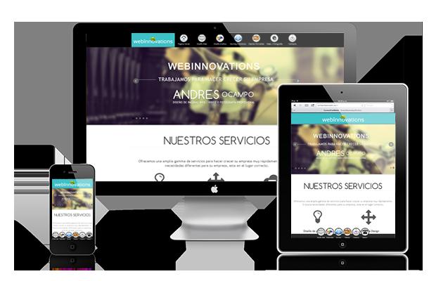 diseño de paginas web colombia quindio armenia responsive design web