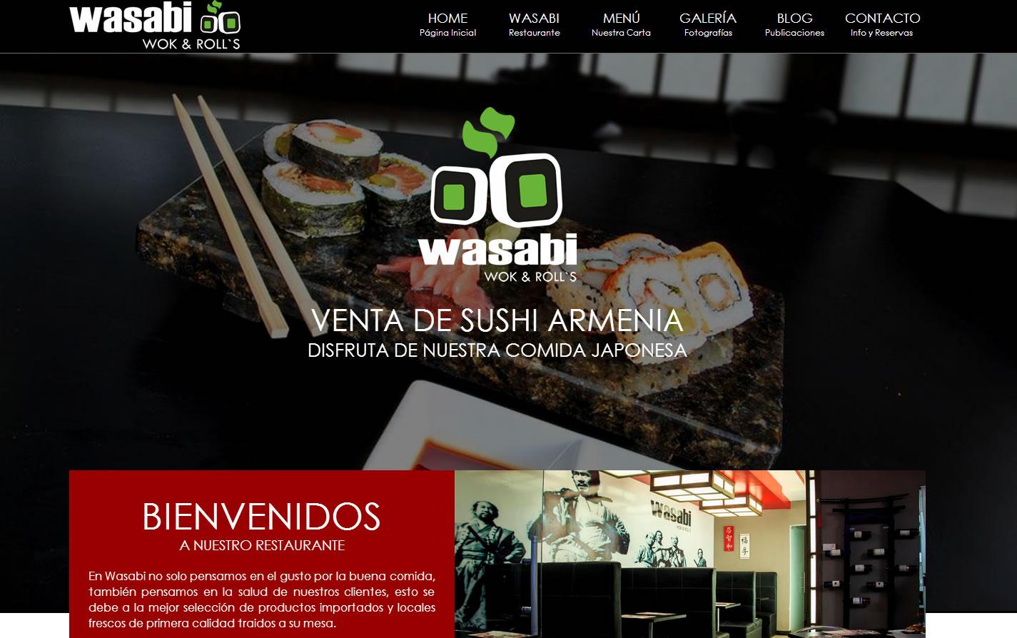 Diseño de Paginas web de Restaurantes y Comidas