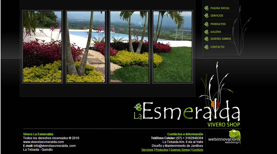 Dise o de paginas web de dise os de jardines for Vivero online mexico